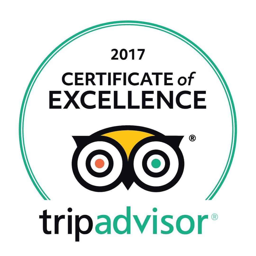 Parliament Buildings has been awarded the 2017 #CertificateofExcellence by TripAdvisor